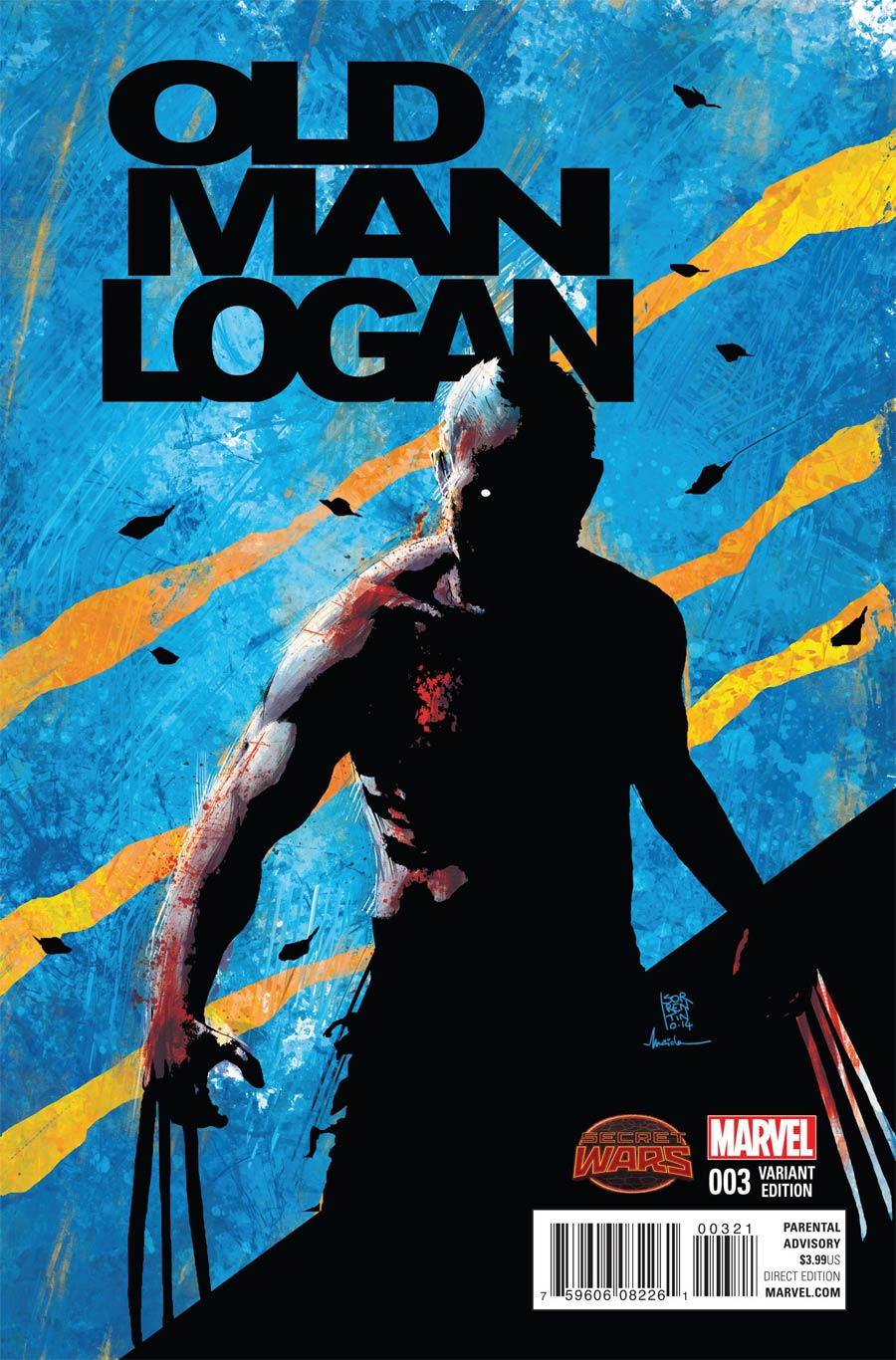 Old Man Logan #3 Cover B Incentive Andrea Sorrentino Variant Cover (Secret Wars Warzones Tie-In)