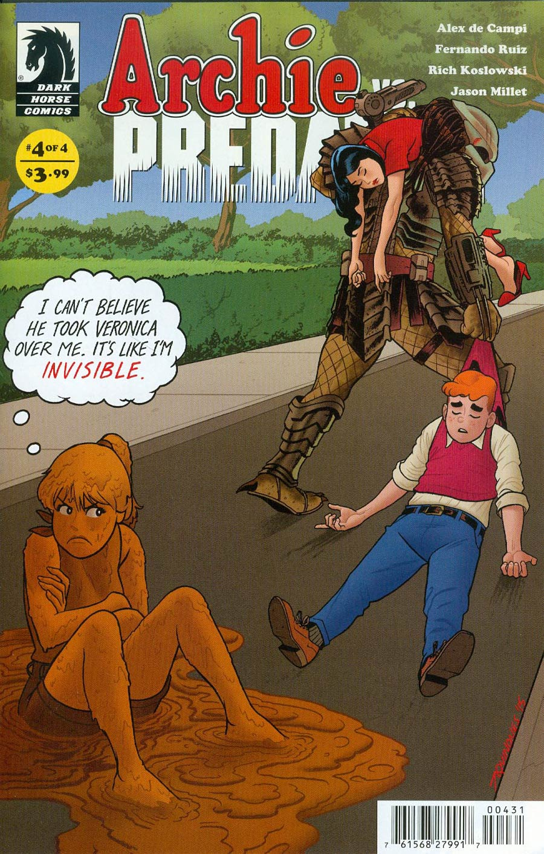 Archie vs Predator #4 Cover C Variant Joe Quinones Ultra-Rare Cover