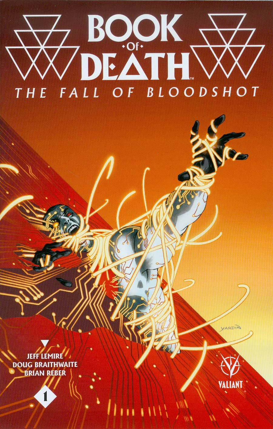 Book Of Death Fall Of Bloodshot #1 Cover C Incentive David Yardin Variant Cover