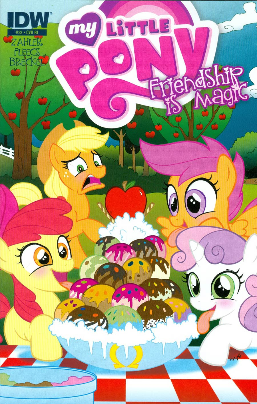 My Little Pony Friendship Is Magic #32 Cover C Incentive Mary Bellamy Variant Cover