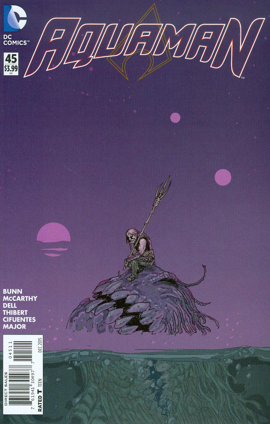 Aquaman Vol 5 #45 Cover A Regular Alec Morgan Cover