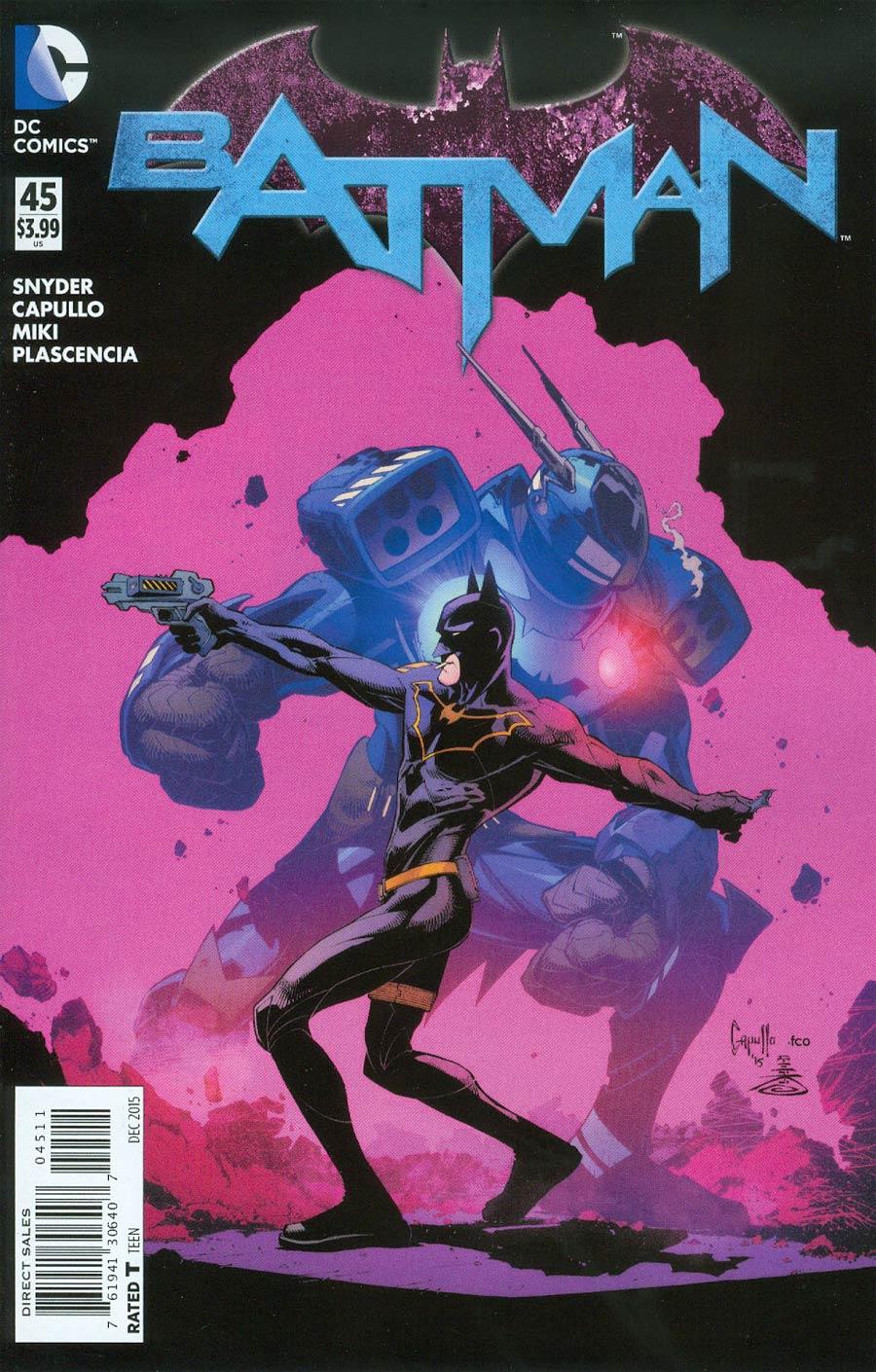 Batman Vol 2 #45 Cover A Regular Greg Capullo Cover