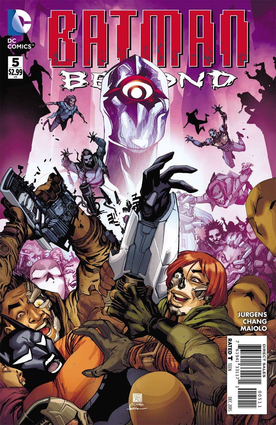 Batman Beyond Vol 5 #5 Cover A Regular Bernard Chang Cover