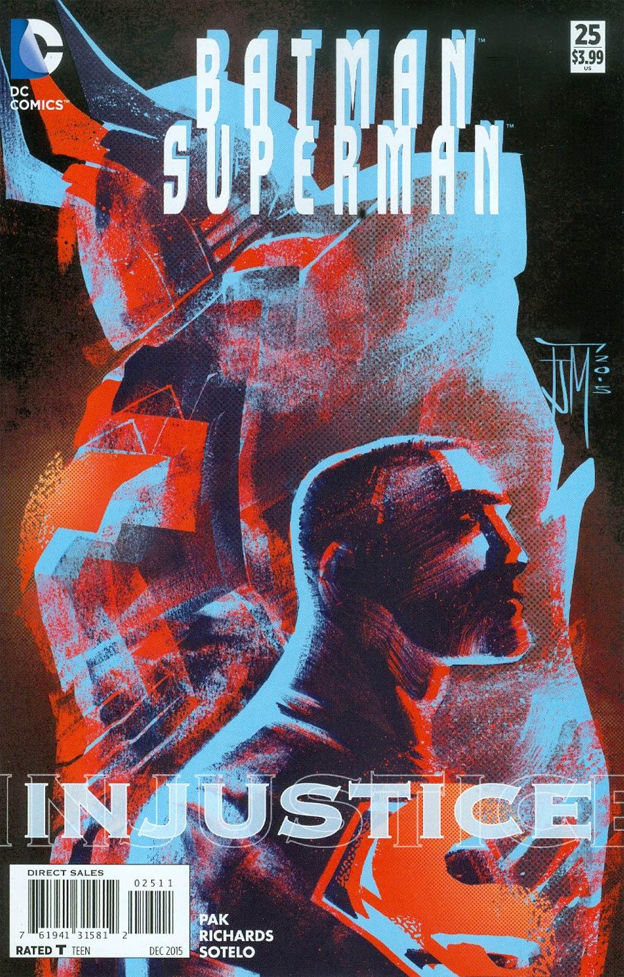 Batman Superman #25 Cover A Regular Francis Manapul Cover