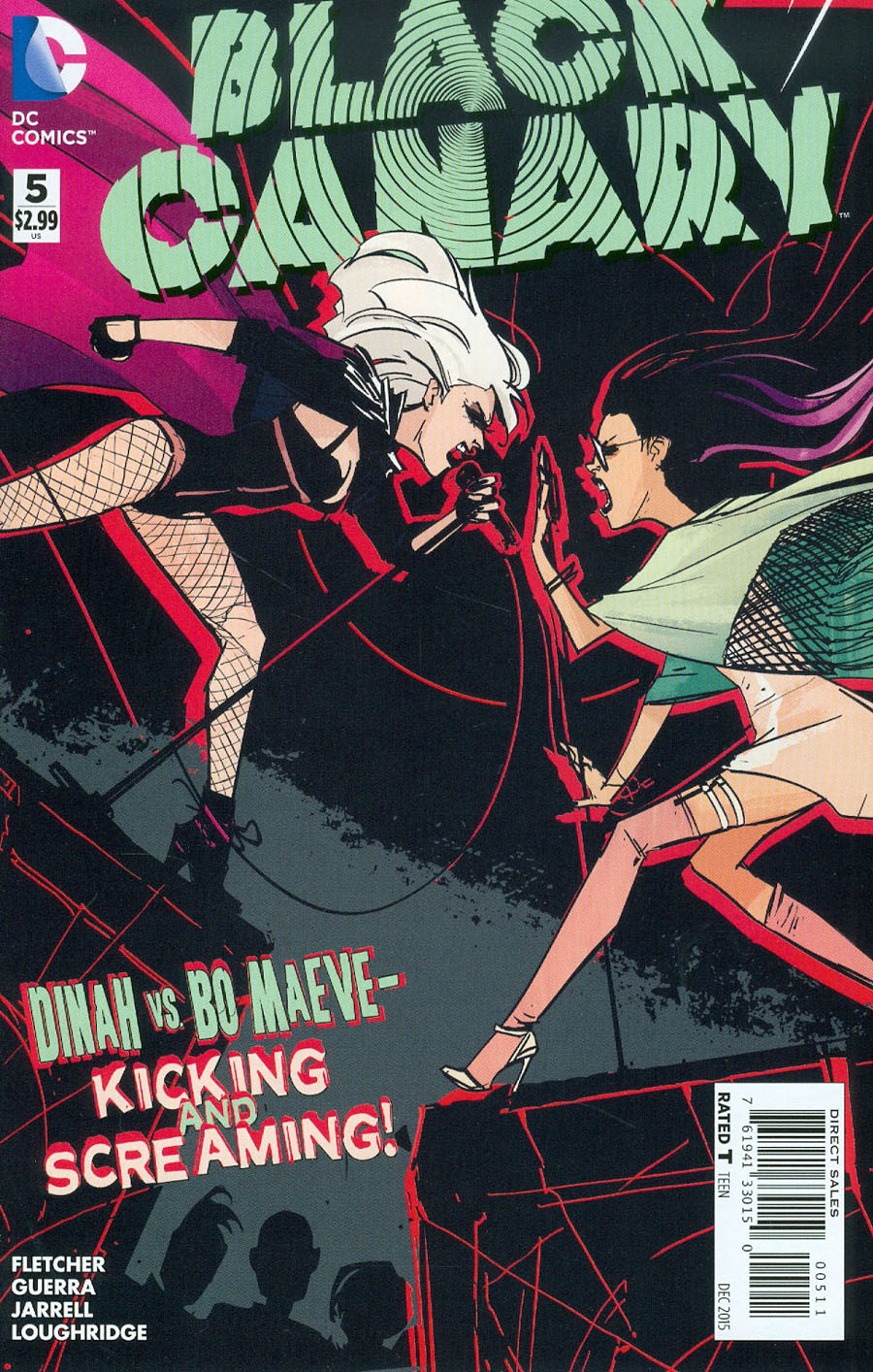 Black Canary Vol 4 #5 Cover A Regular Annie Wu Cover