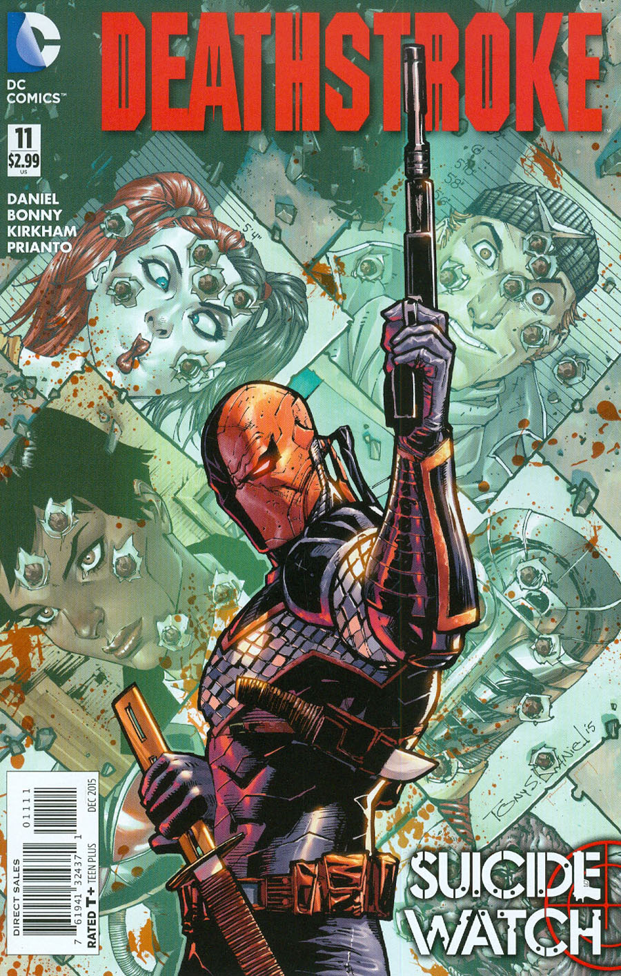 Deathstroke Vol 3 #11 Cover A Regular Tony S Daniel Cover