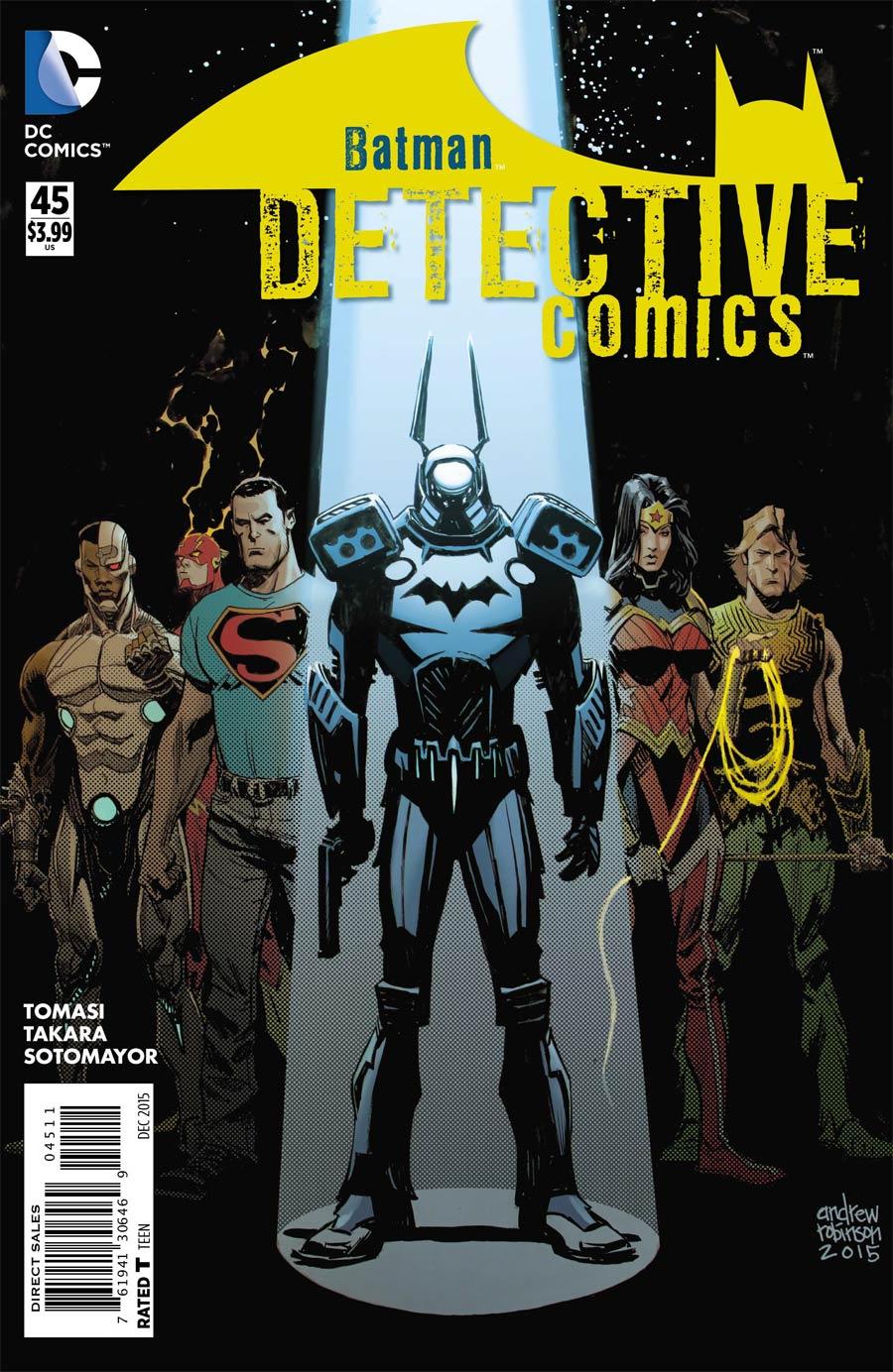 Detective Comics Vol 2 #45 Cover A Regular Andrew Robinson Cover
