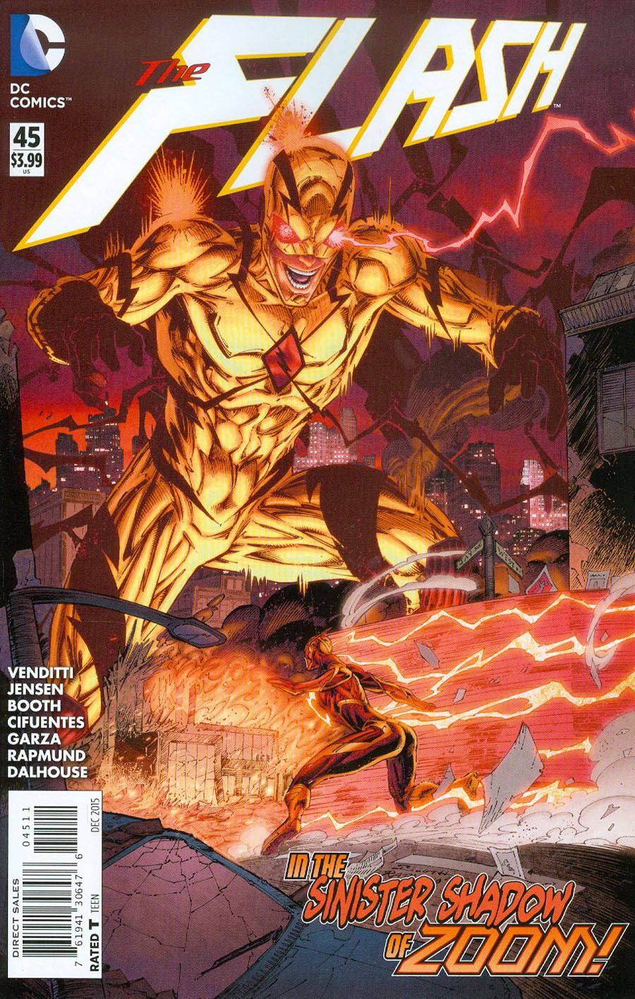 Flash Vol 4 #45 Cover A Regular Brett Booth Cover