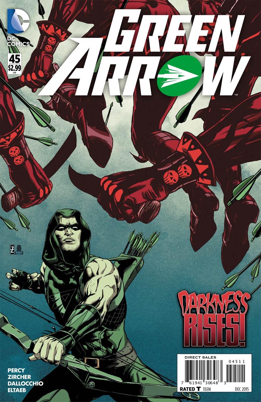 Green Arrow Vol 6 #45 Cover A Regular Patrick Zircher Cover
