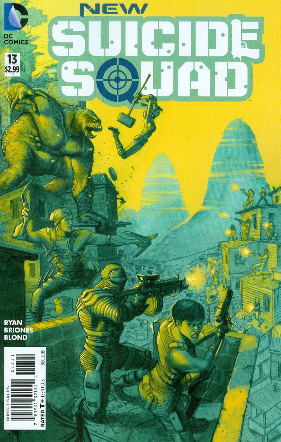 New Suicide Squad #13 Cover A Regular Juan Ferrerya Cover