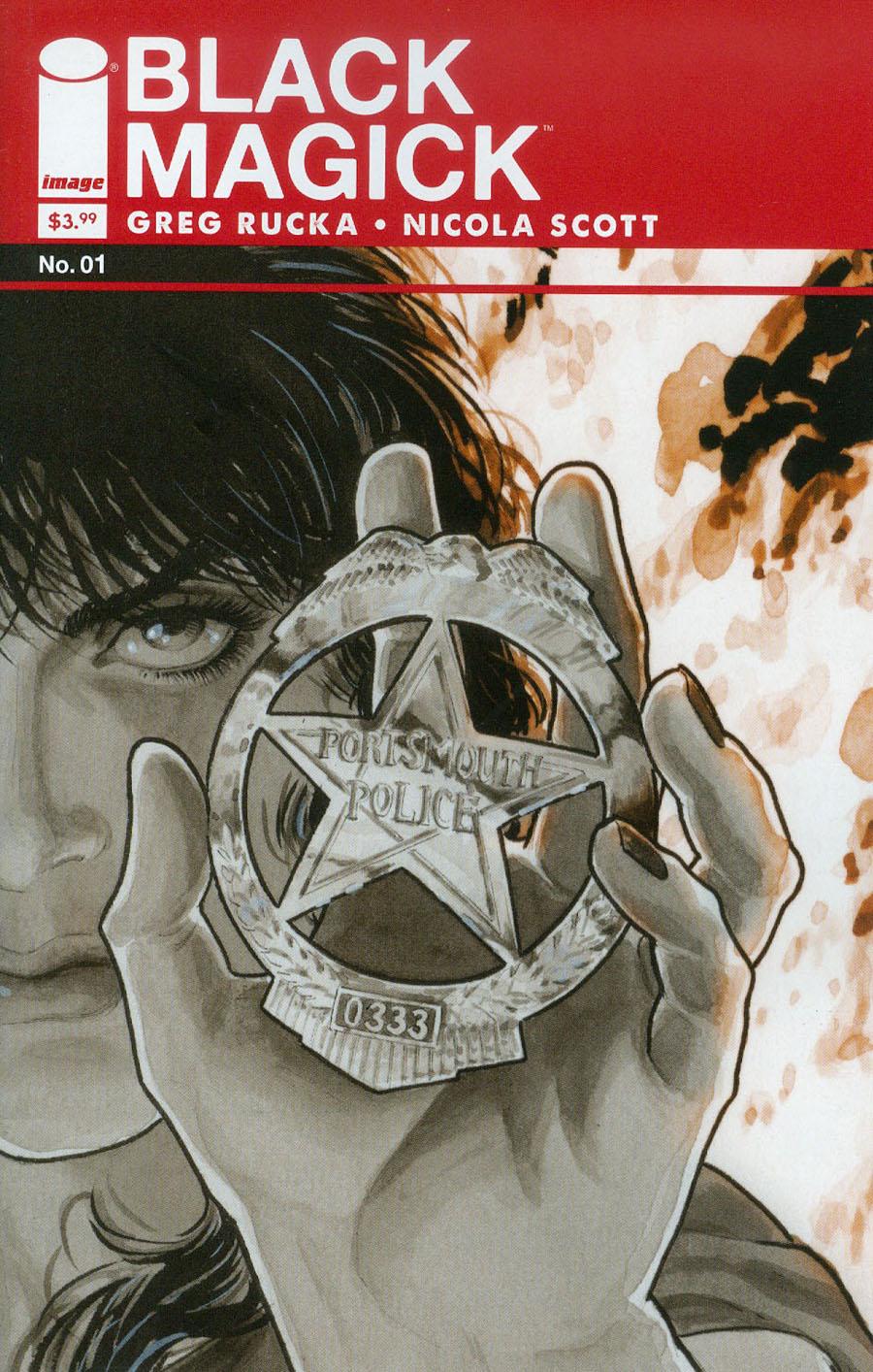 Black Magick #1 Cover A Regular Nicola Scott Comic-Sized Cover
