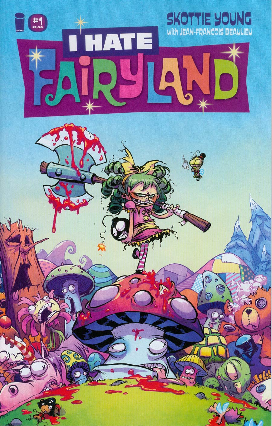 I Hate Fairyland #1 Cover A Regular Skottie Young Cover
