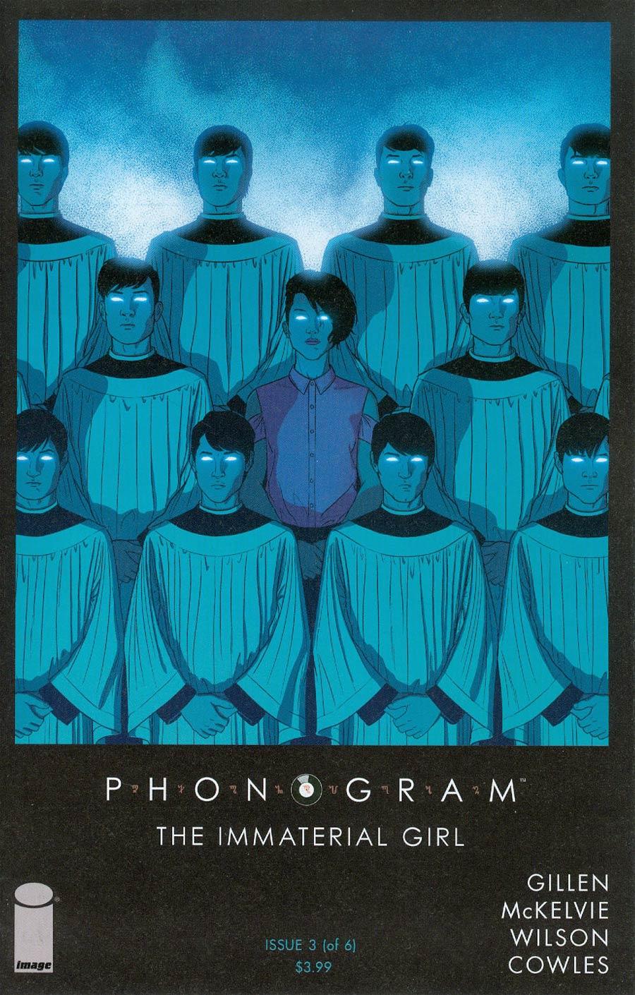 Phonogram The Immaterial Girl #3