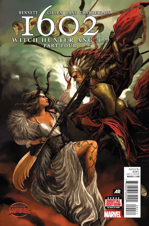 1602 Witch Hunter Angela #4 (Secret Wars Warzones Tie-In)