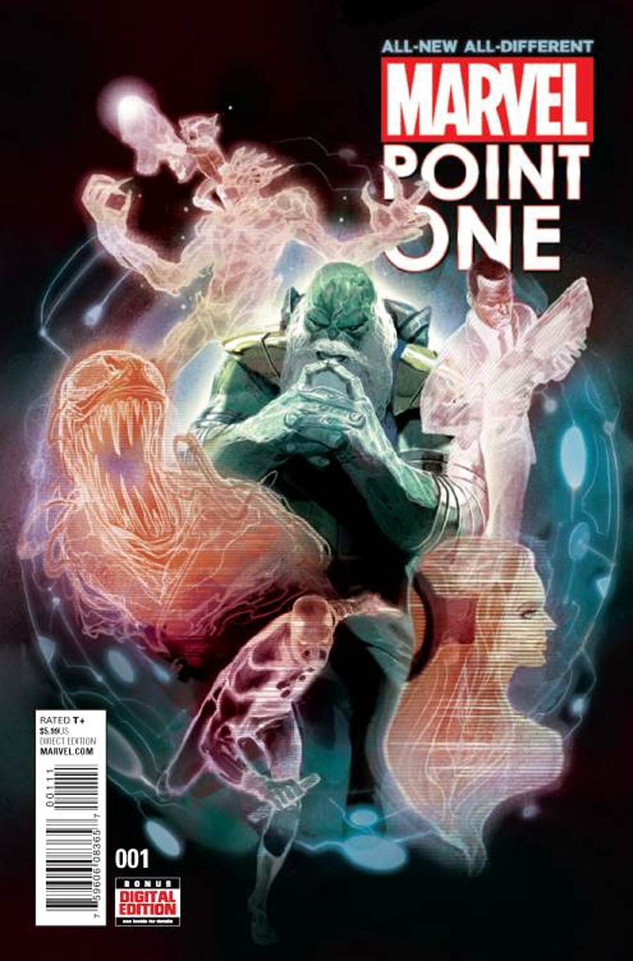 All-New All-Different Marvel Point One #1 Cover A Regular Mike Del Mundo Cover