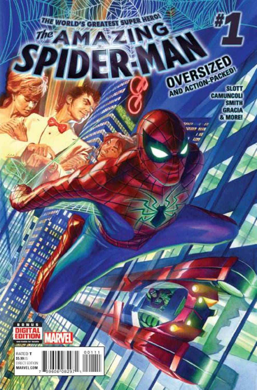 Amazing Spider-Man Vol 4 #1 Cover A Regular Alex Ross Cover