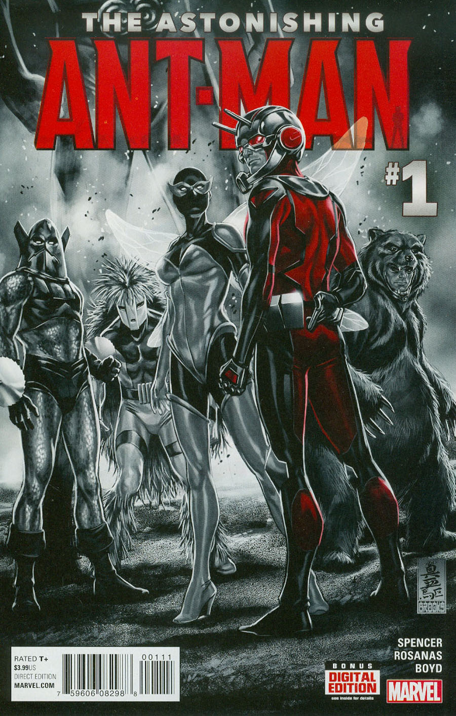 Astonishing Ant-Man #1 Cover A Regular Mark Brooks Cover