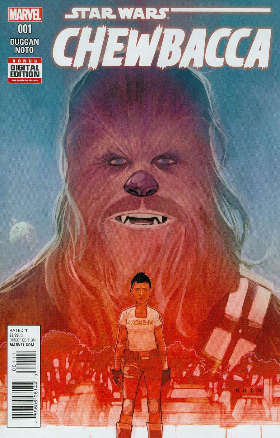 Chewbacca #1 Cover A Regular Phil Noto Cover