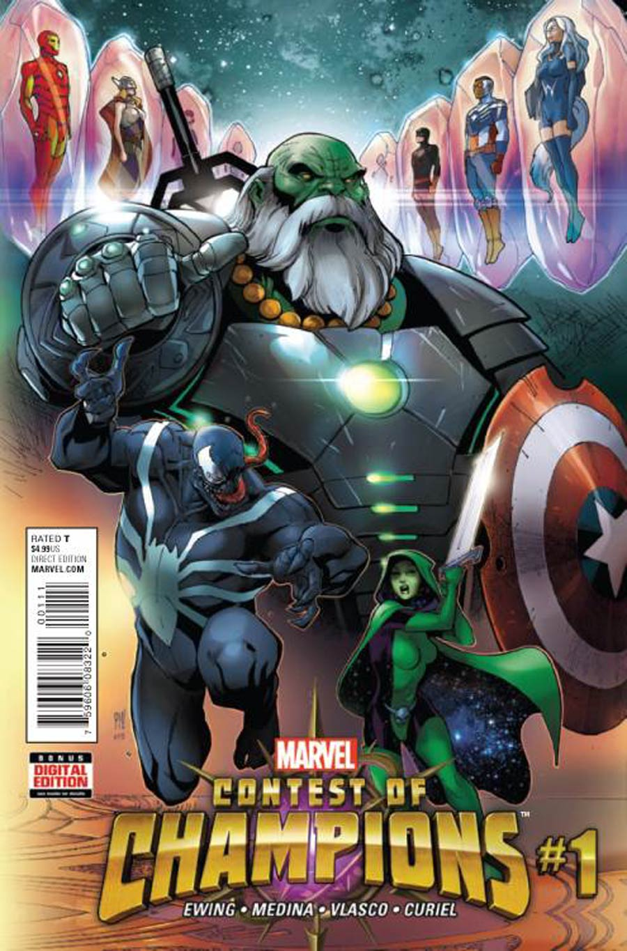 Contest Of Champions Vol 3 #1 Cover A Regular Paco Medina Cover