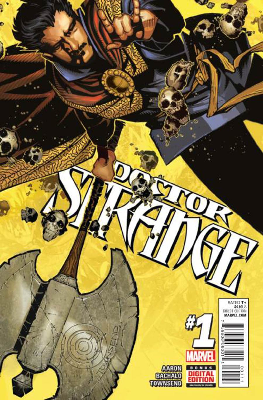 Doctor Strange Vol 4 #1 Cover A Regular Chris Bachalo Cover