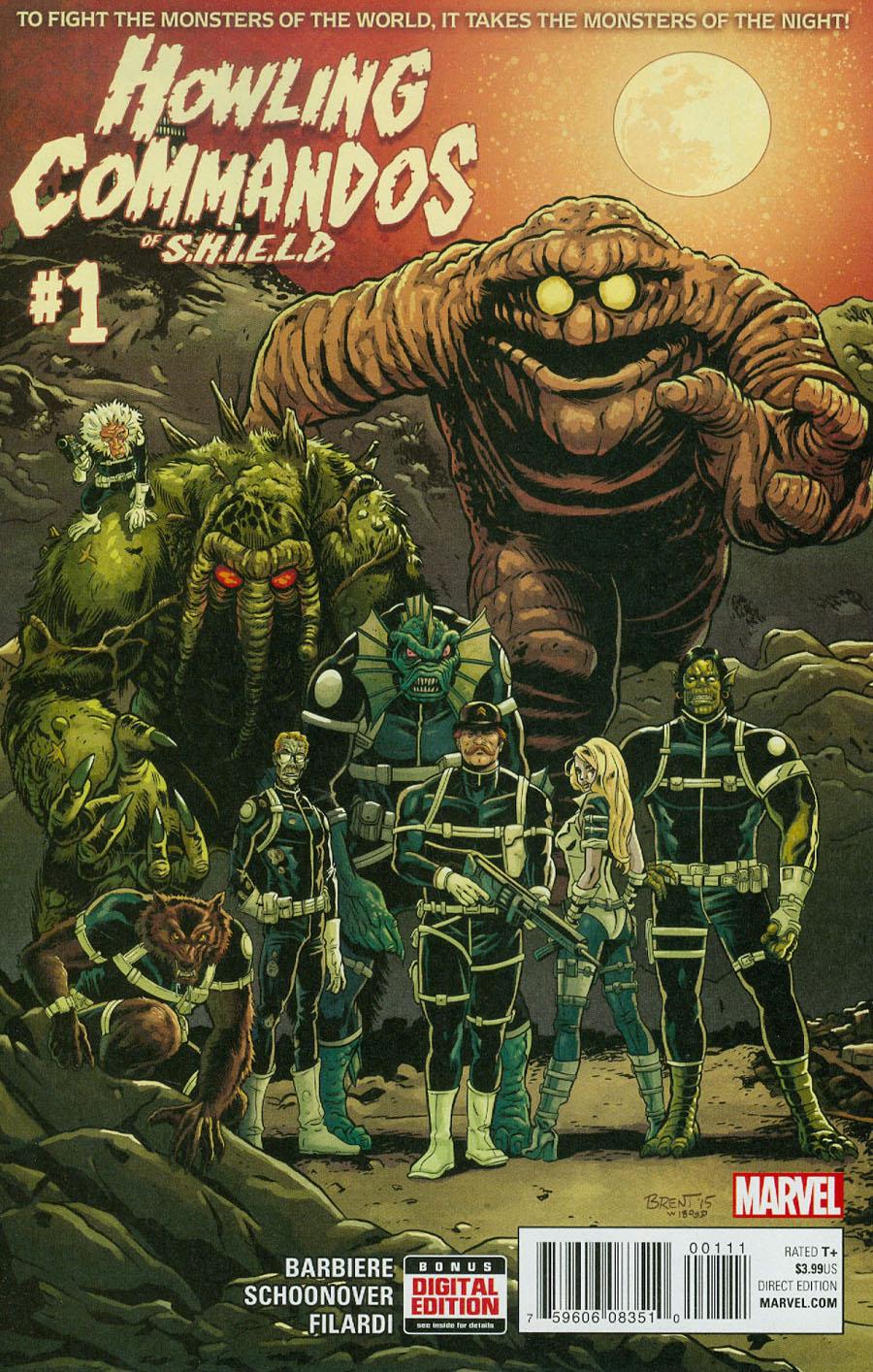 Howling Commandos Of S.H.I.E.L.D. #1 Cover A Regular Brent Schoonover Cover
