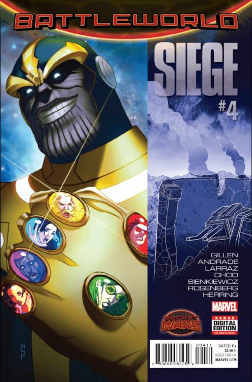 Siege (Marvel) Vol 2 #4 (Secret Wars Battleword Tie-In)