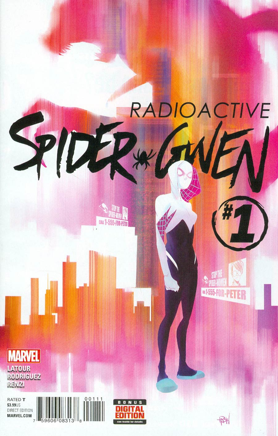 Spider-Gwen Vol 2 #1 Cover A Regular Robbi Rodriguez Cover