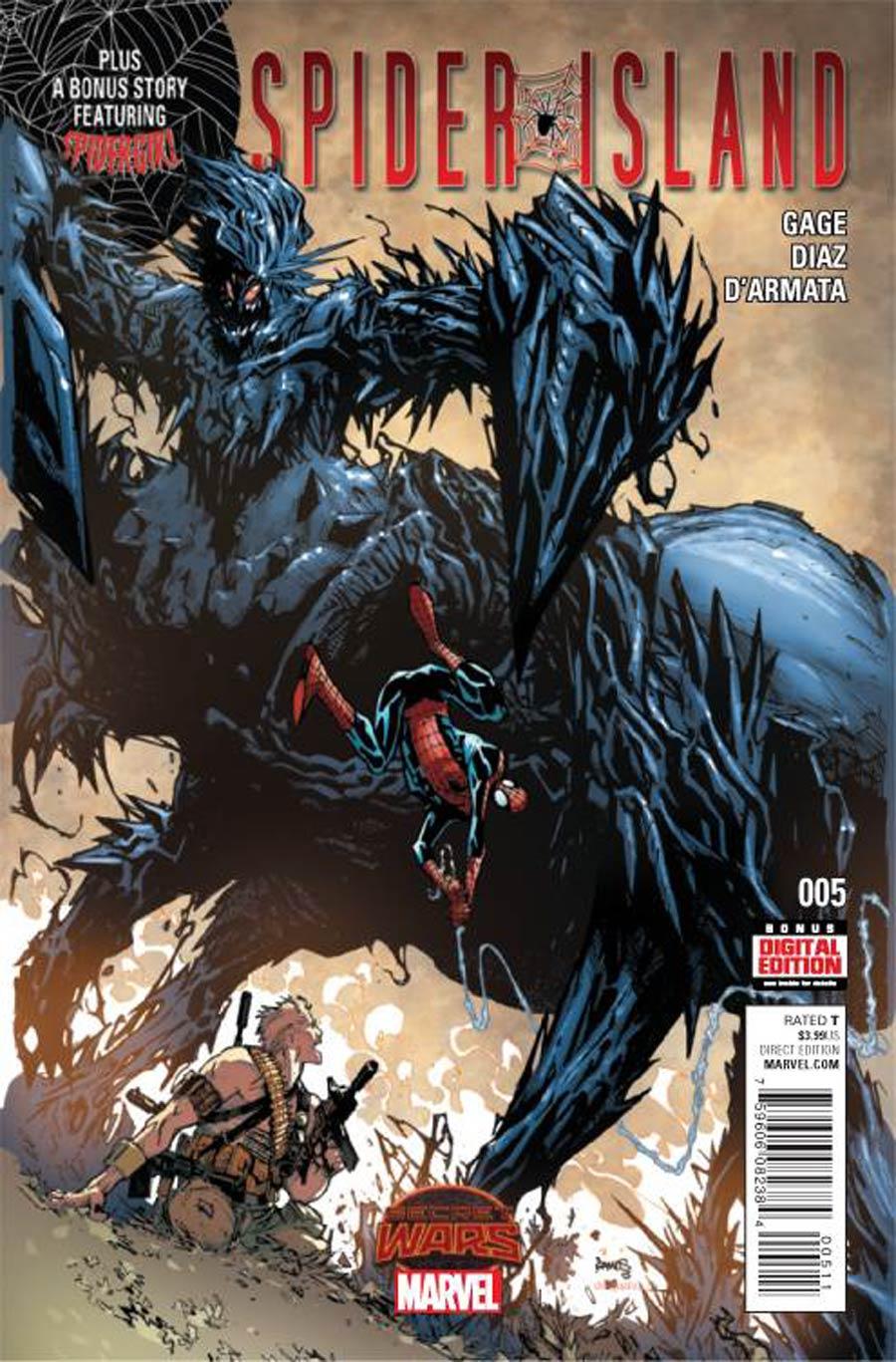 Spider-Island #5 (Secret Wars Warzones Tie-In)