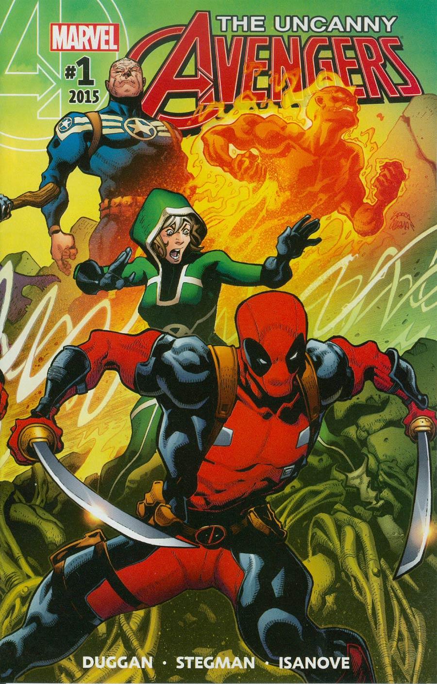 Uncanny Avengers Vol 3 #1 Cover A Regular Ryan Stegman Cover