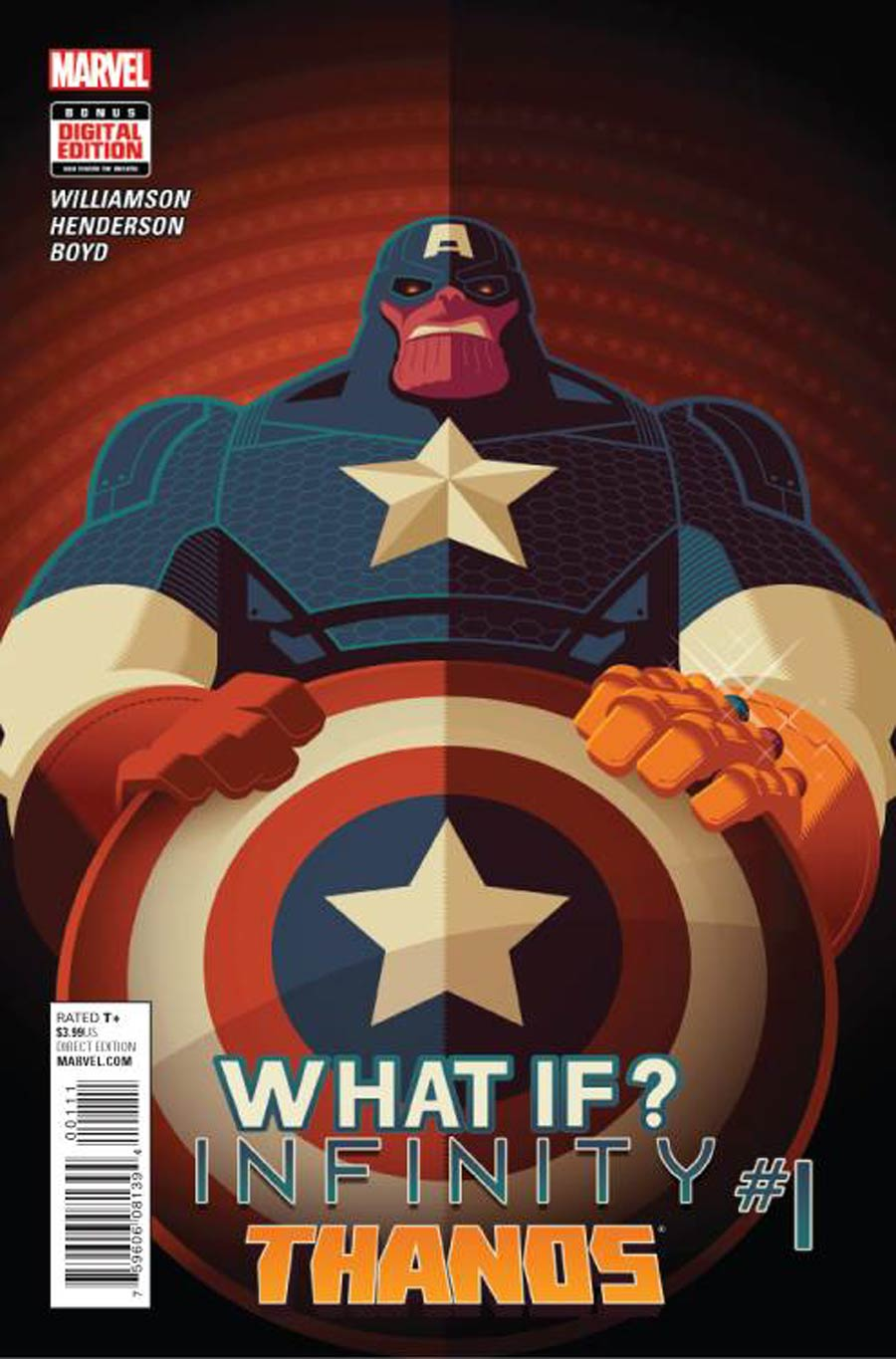 What If Infinity Thanos #1 Cover A Regular Tom Whalen Cover