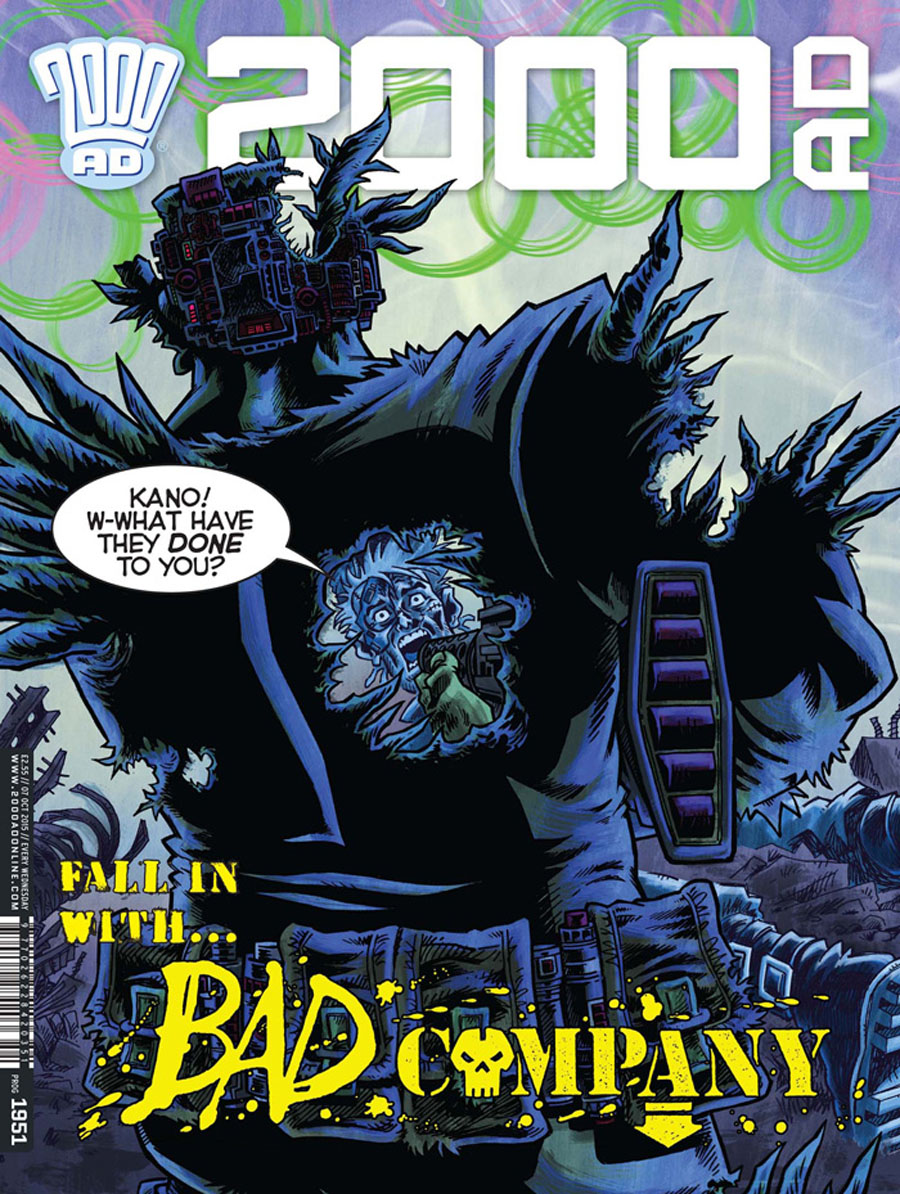 2000 AD #1951 - 1954 Pack October 2015