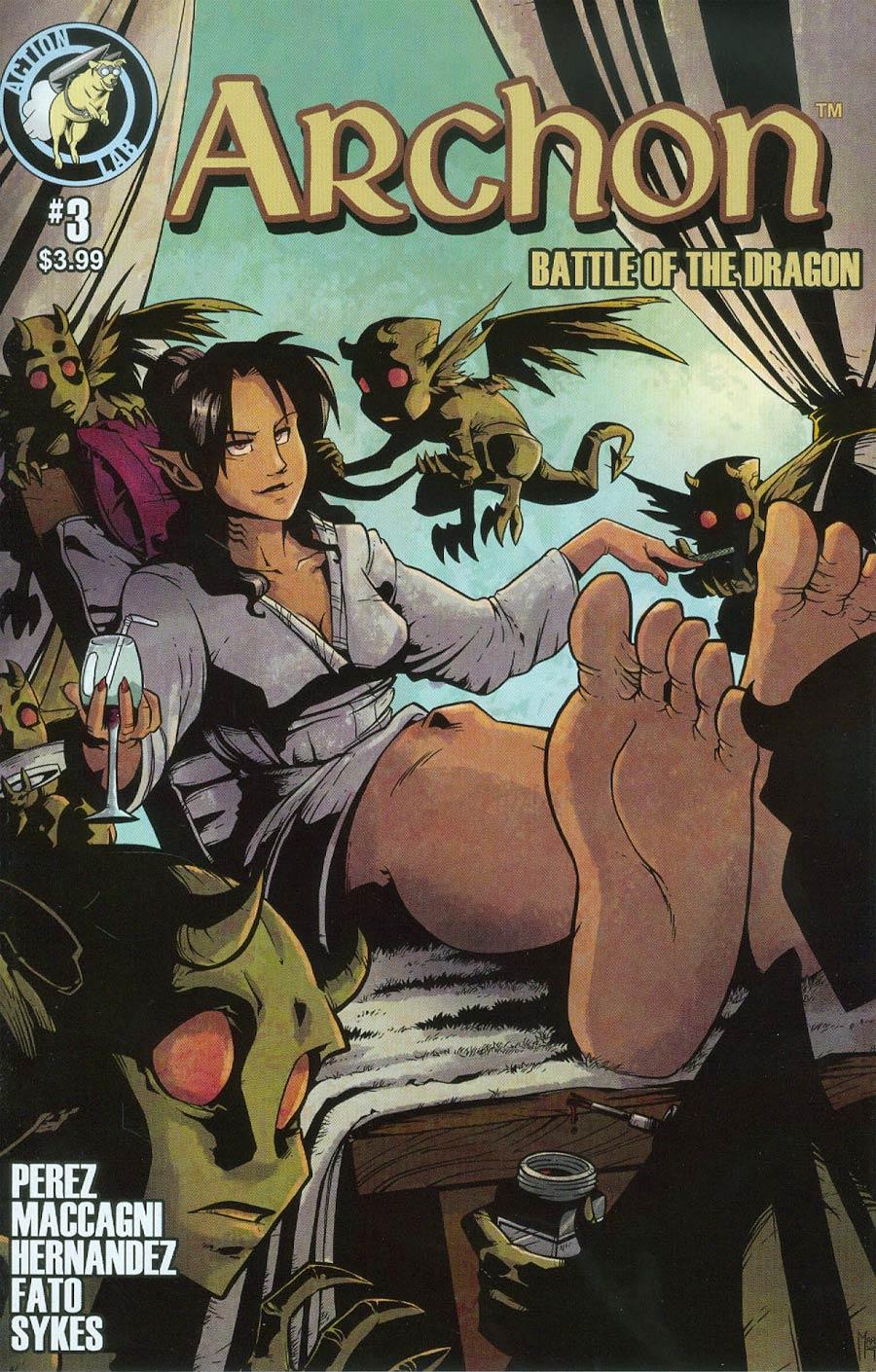 Archon Battle Of The Dragon #3