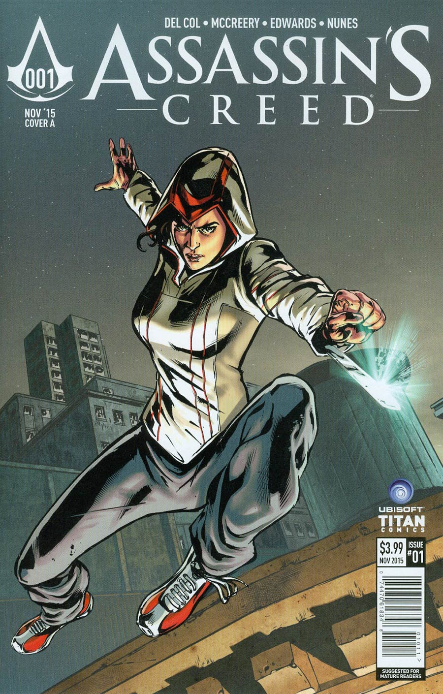 Assassins Creed #1 Cover A Regular Neil Edwards Cover
