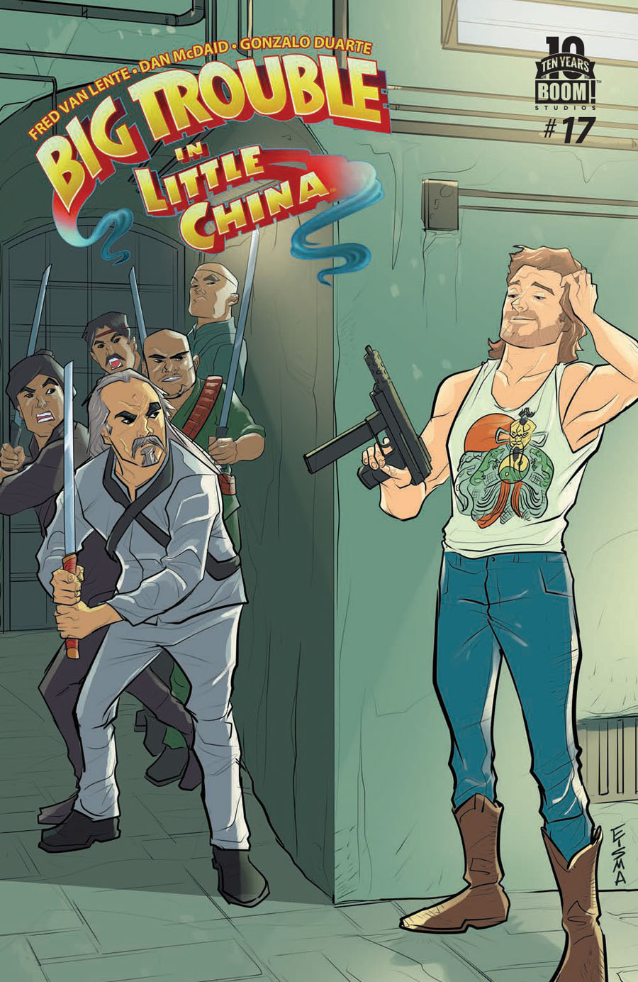 Big Trouble In Little China #17 Cover A Regular Joe Eisma Cover