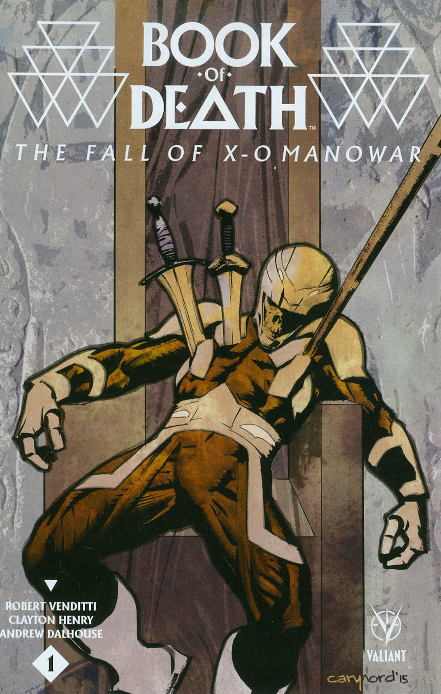 Book Of Death Fall Of X-O Manowar #1 Cover A Regular Cary Nord Cover