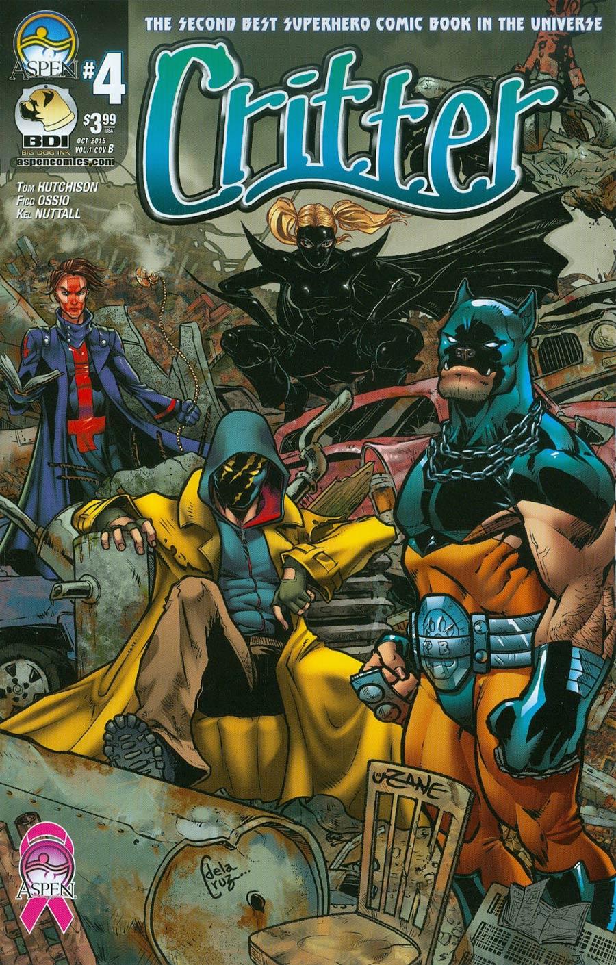 Critter Vol 3 #4 Cover B Variant Corey Zayatz Cover