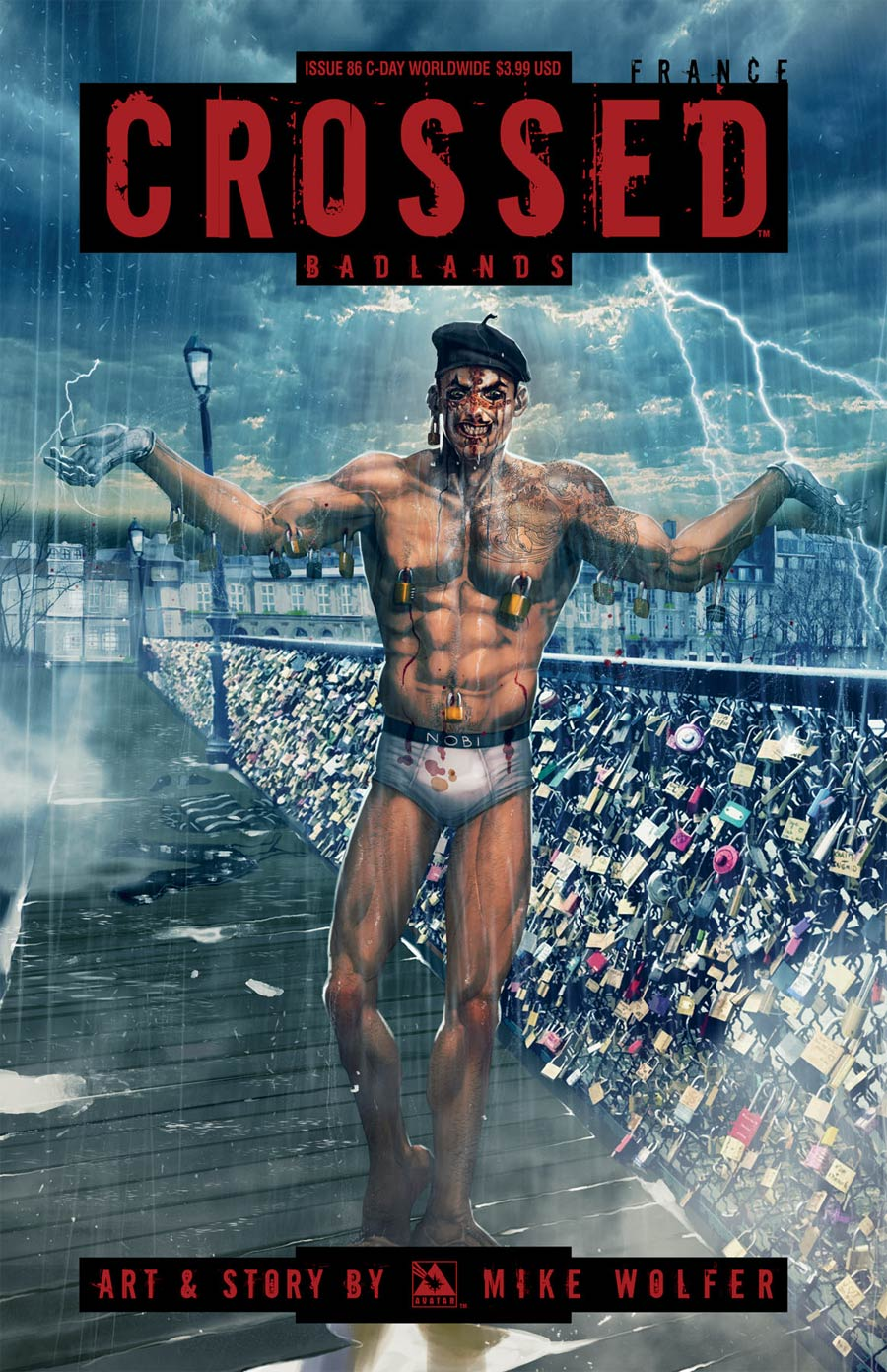 Crossed Badlands #86 Cover E C-Day Worldwide Cover
