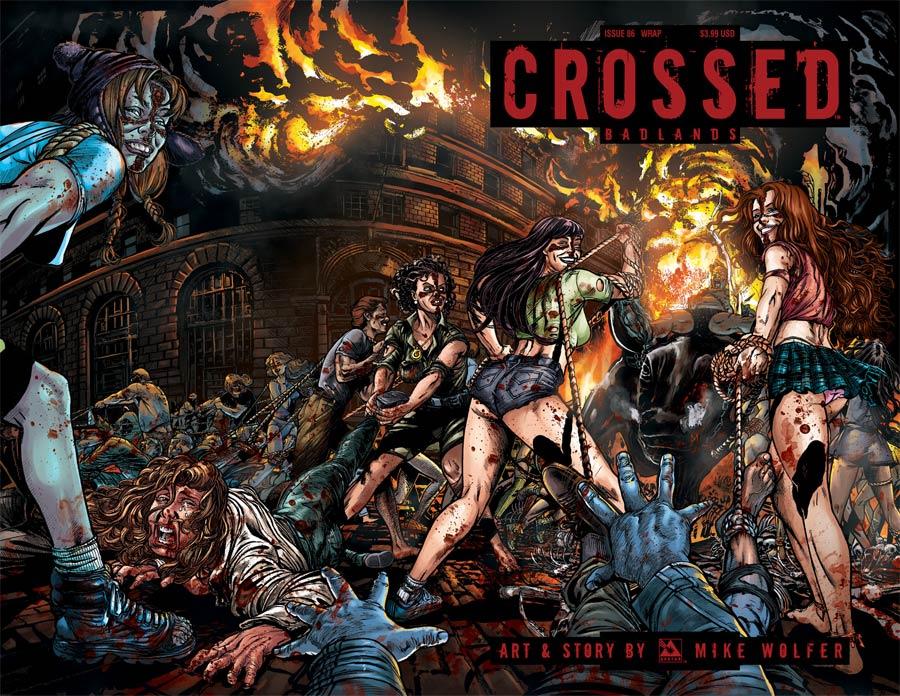 Crossed Badlands #86 Cover C Wraparound Cover