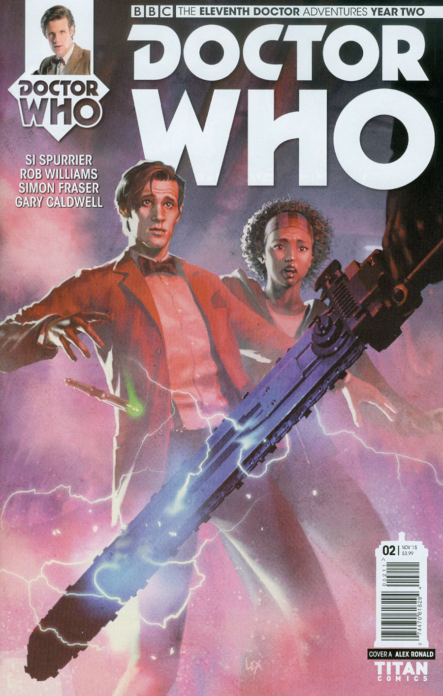 Doctor Who 11th Doctor Year Two #2 Cover A Regular Alex Ronald Cover