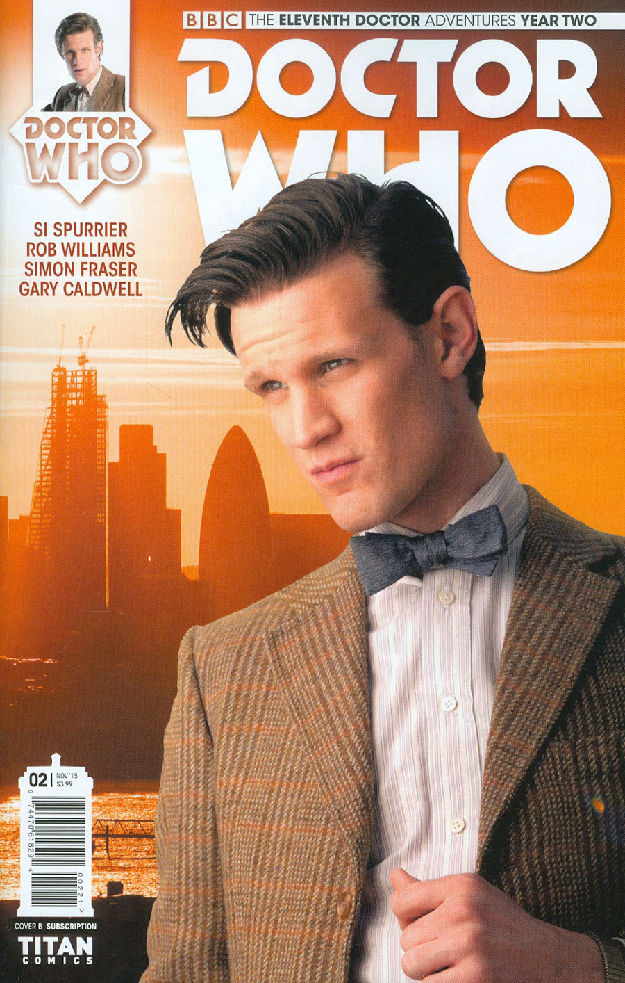 Doctor Who 11th Doctor Year Two #2 Cover B Variant Photo Subscription Cover