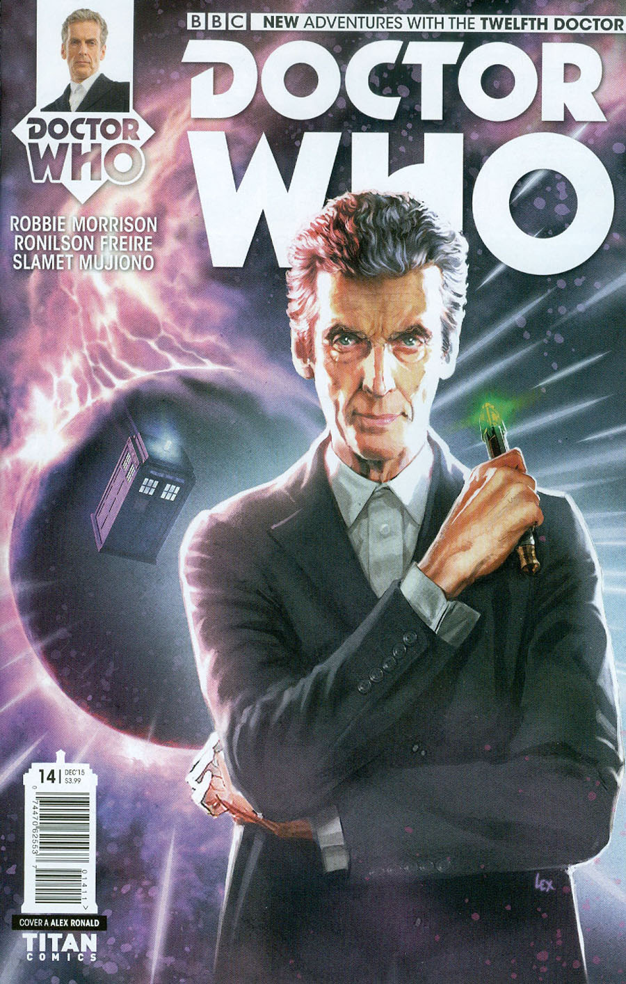 Doctor Who 12th Doctor #14 Cover A Regular Alex Ronald Cover