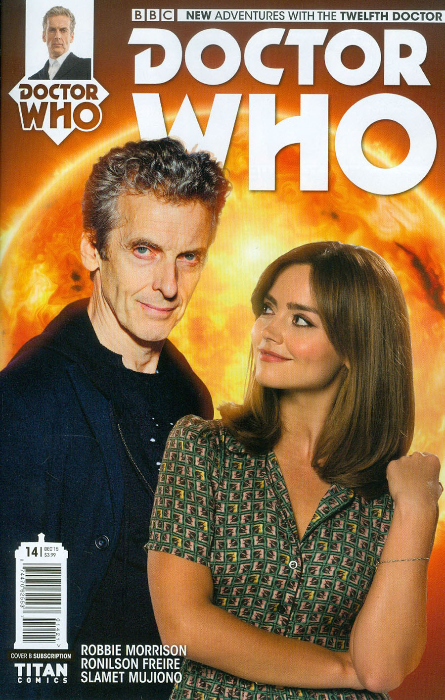 Doctor Who 12th Doctor #14 Cover B Variant Photo Subscription Cover