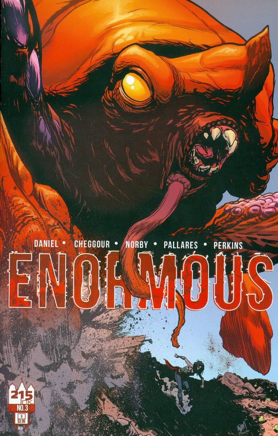 Enormous Vol 2 #3 Cover B Variant Adam Gorham Cover