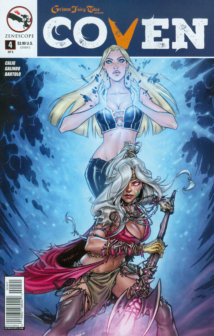 Grimm Fairy Tales Presents Coven #4 Cover D Tina Valentino