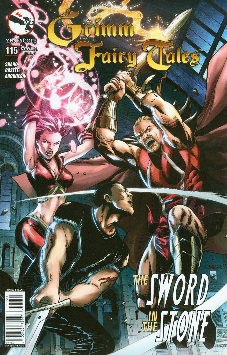 Grimm Fairy Tales #115 Cover A Sean Chen