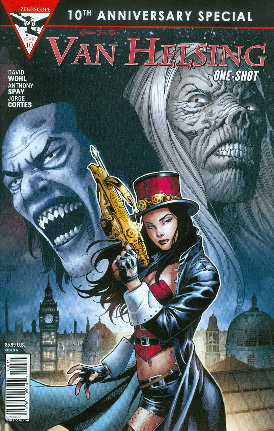 Grimm Fairy Tales Presents 10th Anniversary Special #6 Van Helsing Cover A Sean Chen