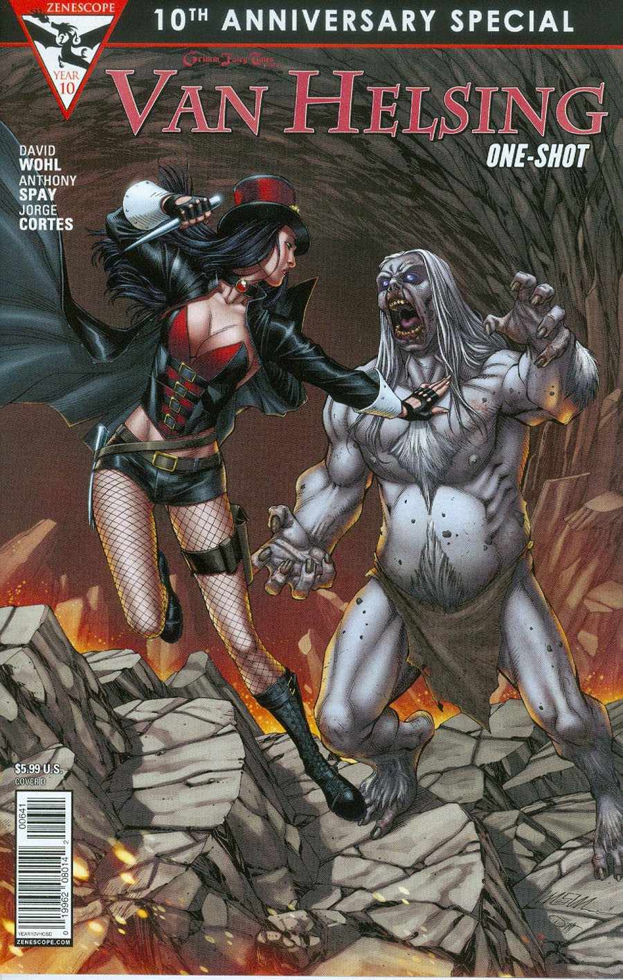 Grimm Fairy Tales Presents 10th Anniversary Special #6 Van Helsing Cover D Mike S Miller