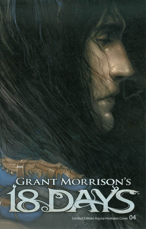 Grant Morrisons 18 Days #4 Cover C Variant Arjuna Hesitates Cover