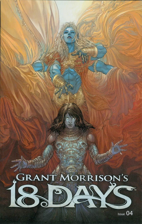 Grant Morrisons 18 Days #4 Cover B Variant Mukesh Singh Cover