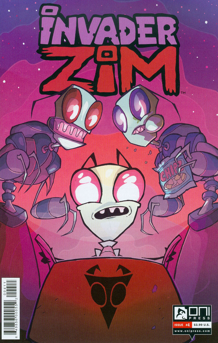 Invader Zim #4 Cover A Regular Aaron Alexovich Cover